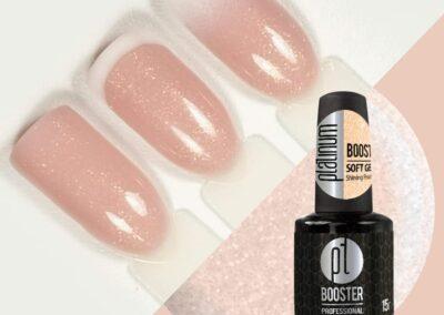 Platinum booster shining peach